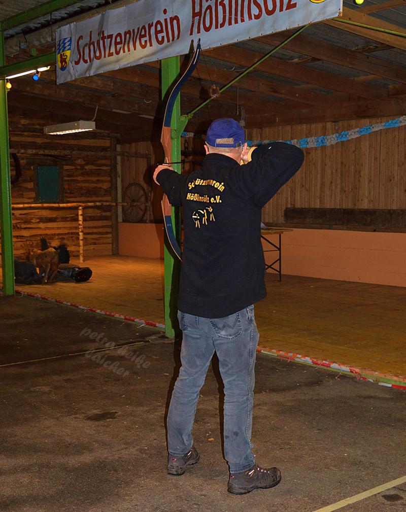 Bogenschütze – Hallendisziplin