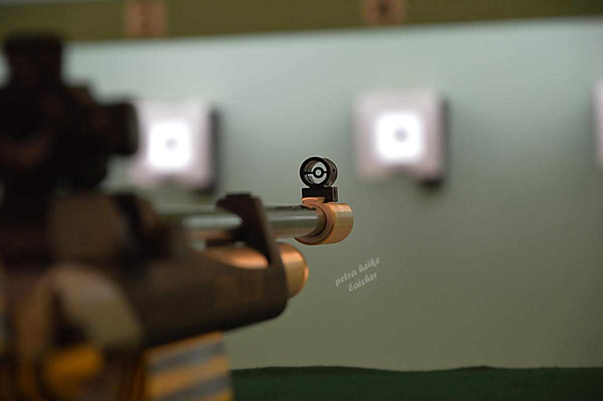 Luftgewehr 10m-Stand